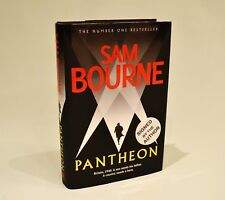 Pantheon - SIGNED - Sam Bourne - 1st ed / first imp - Very Good cond