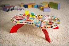 ALEX Toys Jr. Sound and Play Busy Kids Letters, Numbers Table Activity Center