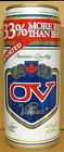 OLD VIENNA LAGER BEER 33% More Than Before 473ml 16oz CAN CANADA O'Keefe 1984 1+