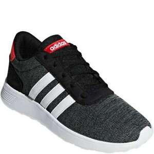 Adidas Boy's Lite Racer - Black - Running Shoes - Sz: 2.5