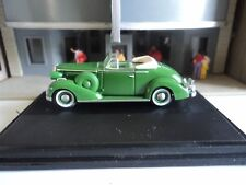Oxford  1936  BUICK SPECIAL CONVERTIBLE  Green  1/87  HO  diecast car  GM NEW