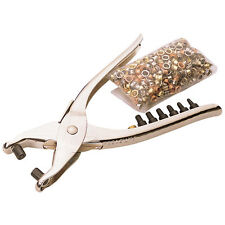 Draper Hole Punch & Eyelet Leather Craft Belt Fabric Puncher Forming Pliers Kit