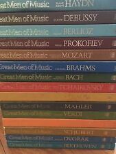 Time Life Great Men Of Music Record Collection 15 Box Set Classical Music