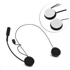 Motorcycle Bluetooth Stereo Speaker Helmet Headset Earphone Handsfree Music CO