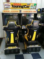 Sega Twin Touring Cars Arcade Machine - Like Sega Rally