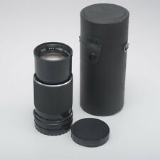 Mamiya 210mm Manual Focus Lens - for M645 Film Camera - with Case - Vg Condition