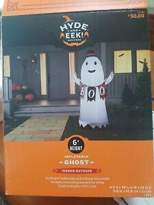 Hyde and EEK!  6' Inflatable Ghost INDOOR/OUTDOOR  Target