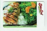SanSai Gift Card - Japanese Grill / Restaurant - No Value - I Combine Shipping
