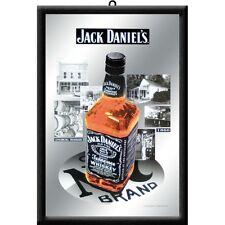 Jack Daniels Pictures Nostalgie Barspiegel Spiegel Bar Mirror 22 x 32 cm