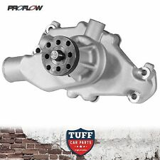Small Block Chev 350 400 Proflow Action Aluminium Short Water Pump Satin Alloy