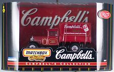Matchbox Campbell's Collection Tomato Soup 1932 Ford Model AA Truck New 1999