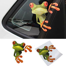 1Pc 3D Peep Frog Funny Decorative Decal Vinyl Graphics Sticker For Car Off Road