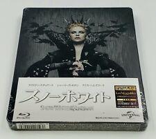 SNOW WHITE AND THE HUNTSMAN Blu-ray STEELBOOK 1/4 SLIP [JAPAN]  *PLEASE READ*