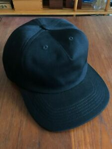 Norse Projects 5 Panel Snap Back Black One Size Baseball Cap Oi Polloi