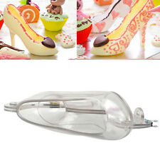 3D High Heel Shoe Candy Mold Chocolate Jelly Mould Cake Baking Decoration DIY