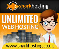 Host 5 Websites Unlimited Website Web Hosting 12 Months Blue Shark *£5*