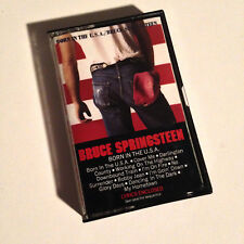 BRUCE SPRINGSTEEN - Born In The USA - Cassette Tape - EX - Tested