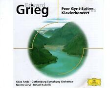 CDEDVARD GRIEGPeer gynt-suiten klavierkonzertDEUTCHE GRAMMAPHONEX (R2522)
