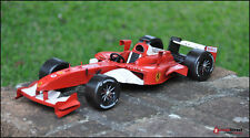 Handmade 2001 RED FERRARI F1 1:12 SCALE Collectable Car Model - Wheels Moveable