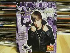 Justin Bieber Sticker Book From Justin To You Includes 6 Stickers & Poster