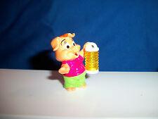 PIG with ACCORDIAN LANTERN Cartoon PINKY PIGGIES Mini Figurine Kinder Surprise