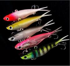 BULK 10x Sink Minnow Fishing Lures Rattles Bass Saltwater Crankbait 10cm