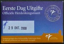 Nederland Coincard eerste dag van uitgifte Architectuur 5 euro 2008