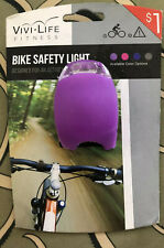 LED Bicycle Bike Silicone Frog Light Front Rear Safety Lamp Cycling Fit