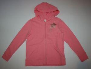 New Gymboree Girls 7 8 year Pink Shooting Star Hoodie Sweatshirt Top Jacket Soft