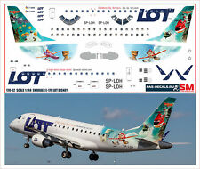 1/144 PAS-DECALS.Rus-Air.laser decal Embraer E-170 Lot Disney Planes