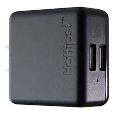 Hottips 3.4-Amp Dual USB Wall Charger Power Adapter - Black