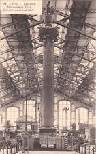 LYON expo internationale 1914 11 intérieur du grand hall écrite