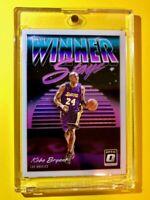 Kobe Bryant OPTIC WINNER STAYS SPECIAL INSERT PANINI DONRUSS LAKERS #2 - Mint!
