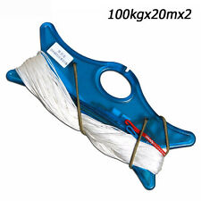 Dyneema Dual Line for Stunt Kite100kg Strength 20mX2 White Premium Quality