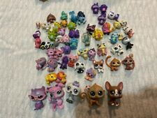 Lot Of 50+ Littlest Pet Shop Toys Figures Mixed Collection