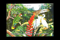 Birds Ecology BRAPEX VII stamp Brasil 1988 鳥 Tori 鸟类 Niǎo lèi Vögel lintuja