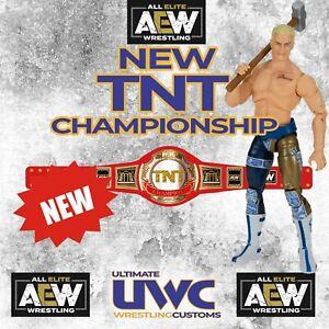 NEW AEW TNT Title for Mattel/ Jakks / Elite Figures WWE