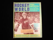 January 1971 Hockey World Magazine - Garry Unger Redwings Cover