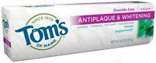 Antiplaque & Whitening Toothpaste, Tom's of Maine, 5.5 oz Peppermint