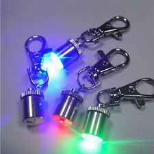 Cute Keychain Style Safety Flashing LED Light Pet Dog Collar Pendant Charms