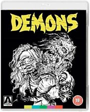 Demons (Bava, Urbano Barberini) Blu-ray Region B New + DVD