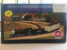 Atlas O- Industrial Rail -Train Set Brand New O gauge Yuletide -Christmas Gift