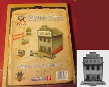 Micro Art H00021 Wild West Exodus Western Town Hall WWX Terrain Bank Building