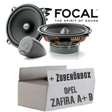 Altavoces para Opel Zafira a + B Puerta Trasera Cajas Focal Coche