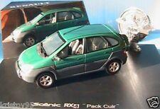 RENAULT SCENIC RX 4 PACK CUIR METALLIC GREEN 1/43 VERT UNIVERSAL HOBBIES RX4