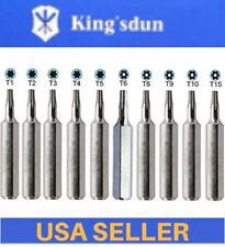 CR-V Bit Set T1 T2 T3 T4 T5 T6 T8 TR9 T10 T15 torx screwdriver Hex 4mm