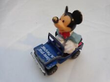 VINTAGE 1970'S MATCHBOX DISNEY SERIES NO.5 & 6 MICKEY MOUSE MAIL JEEP