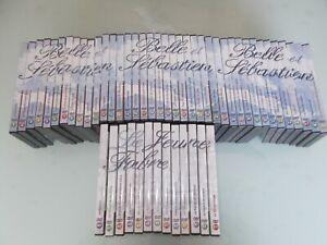 RARE Collection Compléte Mehdi DVD BELLE ET SEBASTIEN ET LE JEUNE FABRE