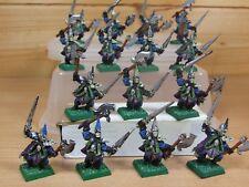 15 Classic Metal Warhammer elfos oscuros corsarios Pintado (045)