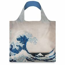 LOQI Artist Museum Collection Tote Bag 'The Great Wave' Hokusai